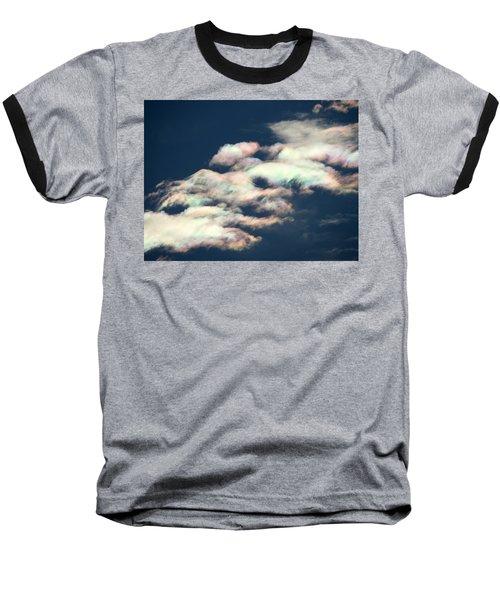 Iridescent Clouds Baseball T-Shirt