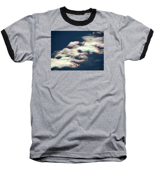 Iridescent Clouds Baseball T-Shirt