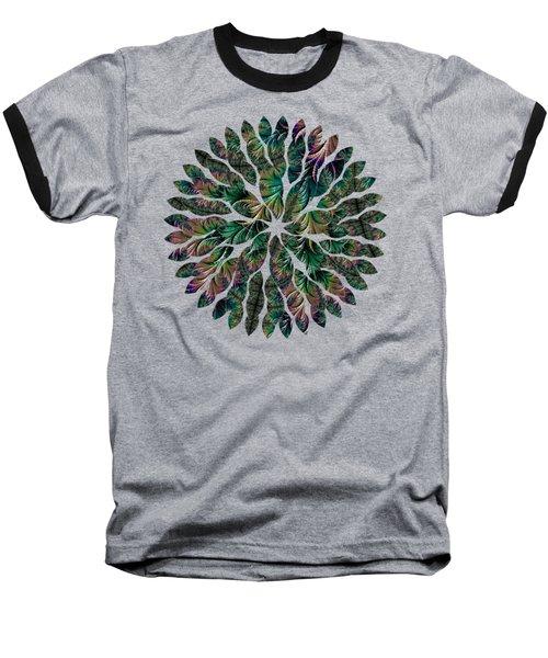 Iridescent Feathers Baseball T-Shirt