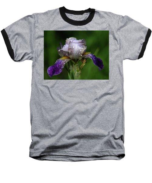 Iris After The Rain 1409 H_2 Baseball T-Shirt