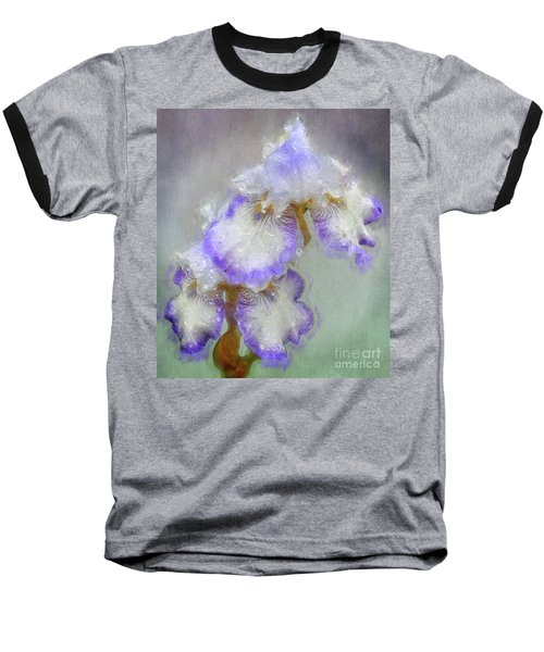 Iris After The Rain Baseball T-Shirt by Suzanne Handel