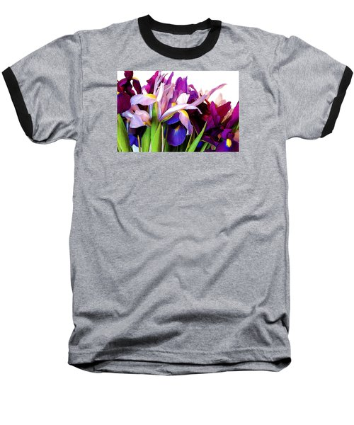 Iris Bouquet Baseball T-Shirt
