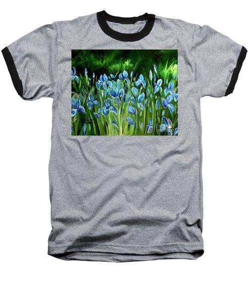 Iris Galore Baseball T-Shirt