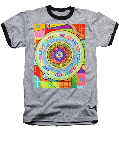 Iris Baseball T-Shirt by Jeremy Aiyadurai