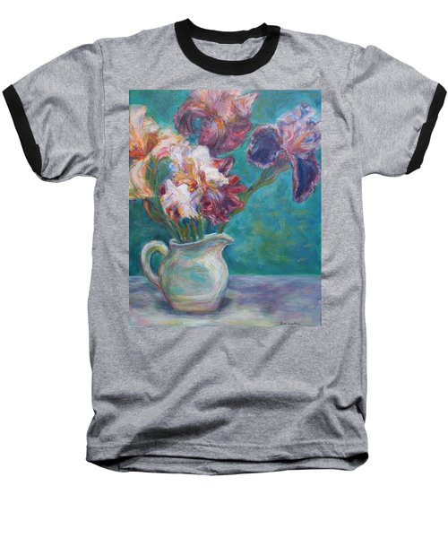 Iris Medley - Original Impressionist Painting Baseball T-Shirt