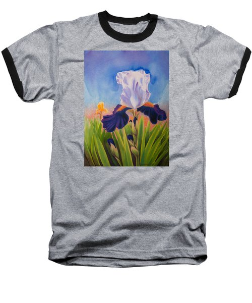 Iris Morning Baseball T-Shirt