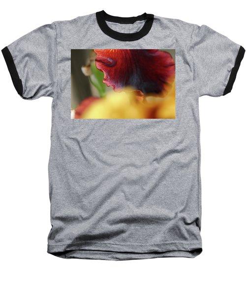 Iris Petals 2 -  Baseball T-Shirt
