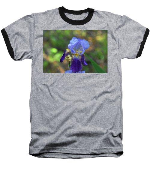 Iris Purple And Blue Baseball T-Shirt