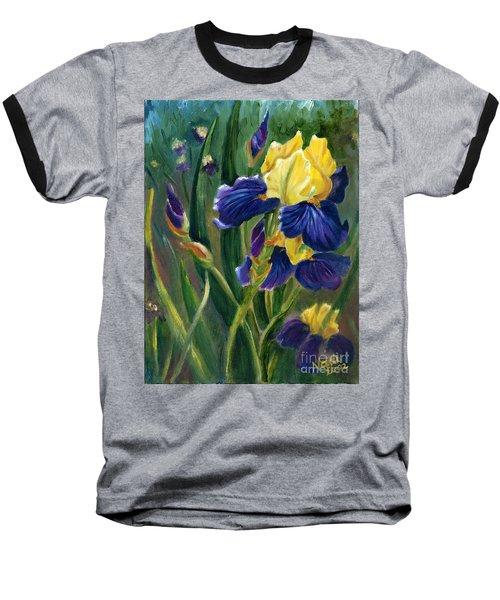 Iris Baseball T-Shirt by Renate Nadi Wesley