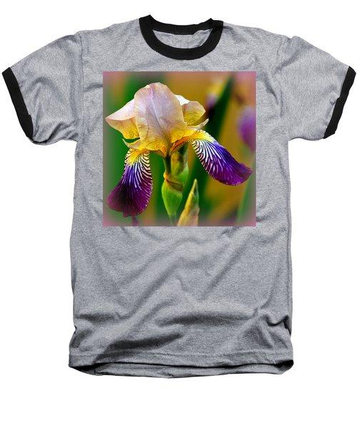 Iris Stepping Out Baseball T-Shirt