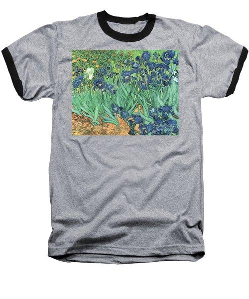 Irises Baseball T-Shirt