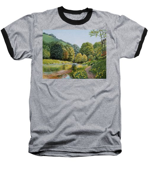 Irish Afternoon Stroll Baseball T-Shirt