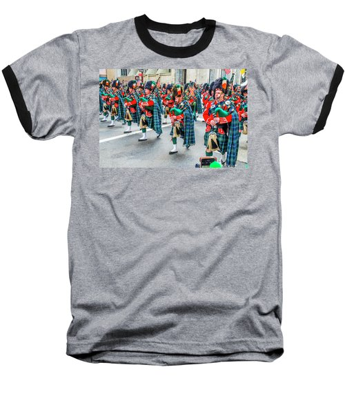 St. Patrick Day Parade In New York Baseball T-Shirt