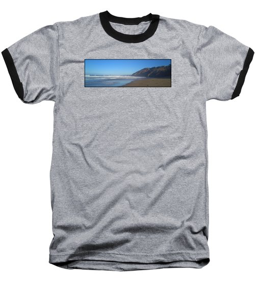 Irish Beach With Border Baseball T-Shirt