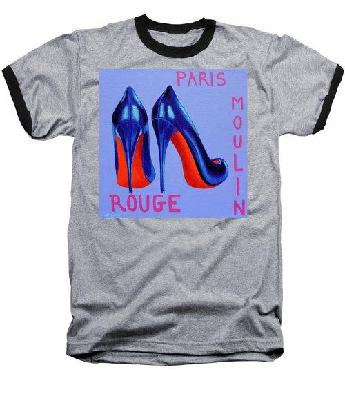 Irish Burlesque Shoes Baseball T-Shirt by John  Nolan