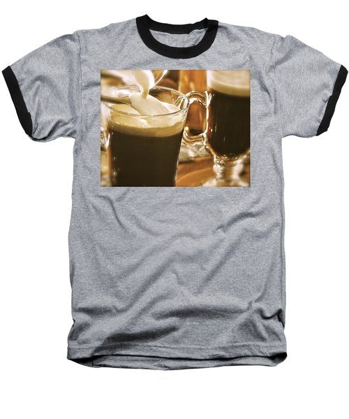 Irish Coffee Baseball T-Shirt