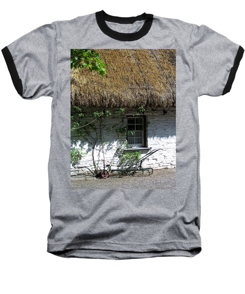 Irish Farm Cottage Window County Cork Ireland Baseball T-Shirt