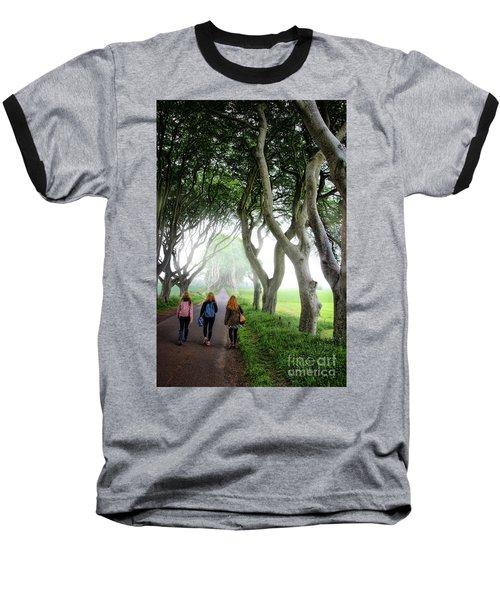 Irish Lasses On The King's Road Baseball T-Shirt