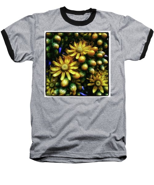 Baseball T-Shirt featuring the photograph Irish Rose. Also Known As Pinwheel by Mr Photojimsf