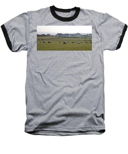 Irish Sheep Farm Baseball T-Shirt