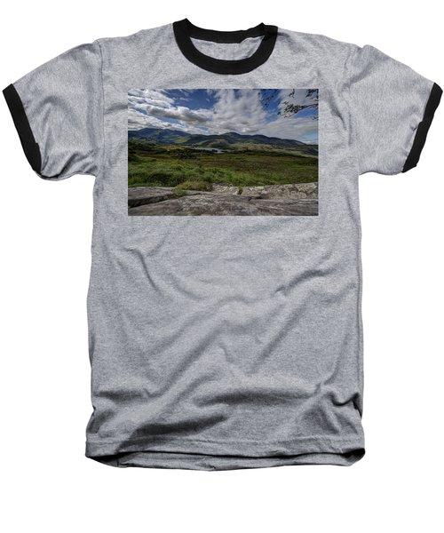 Irish Sky - Wicklow Mountains Baseball T-Shirt