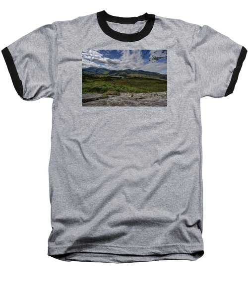 Irish Sky - Wicklow Mountains Baseball T-Shirt