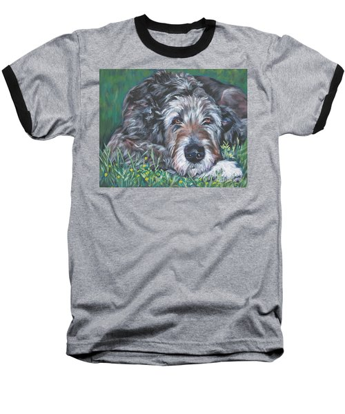 Irish Wolfhound Baseball T-Shirt
