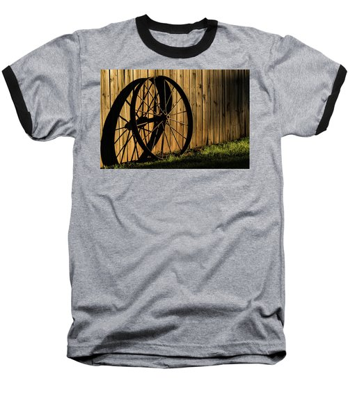 Iron Wheel Baseball T-Shirt
