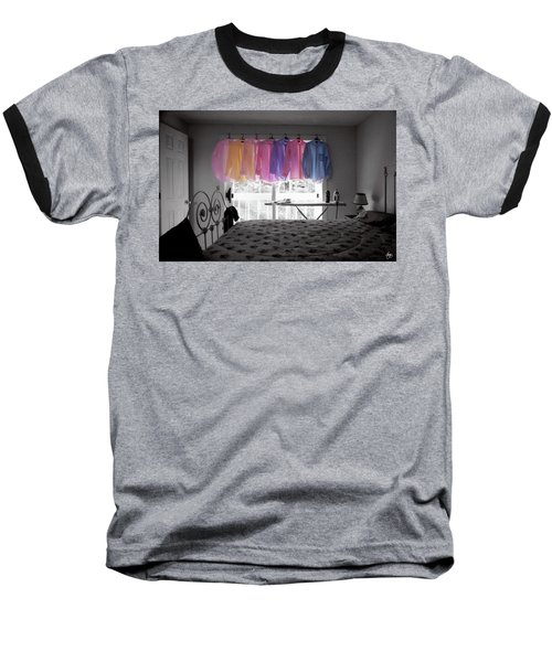 Ironing Adds Color To A Room Baseball T-Shirt