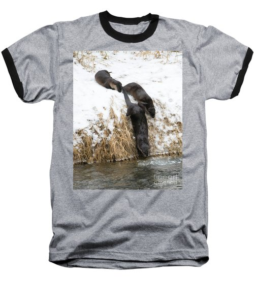 Is It Cold Baseball T-Shirt