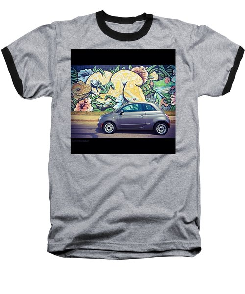 Is It Safe To Drive Mr. #fiat Into The Baseball T-Shirt