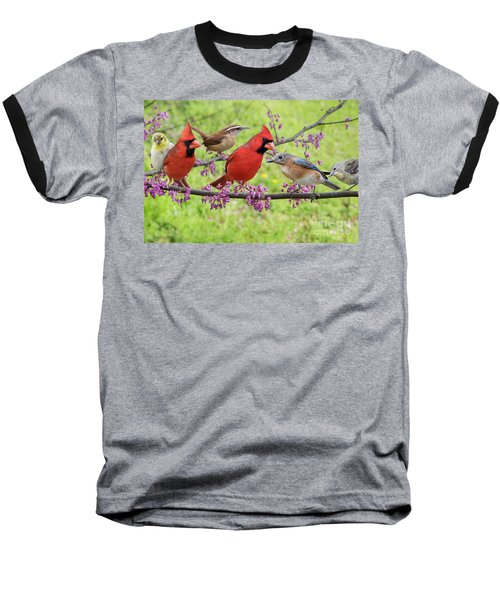 Is It Spring Yet? Baseball T-Shirt by Bonnie Barry