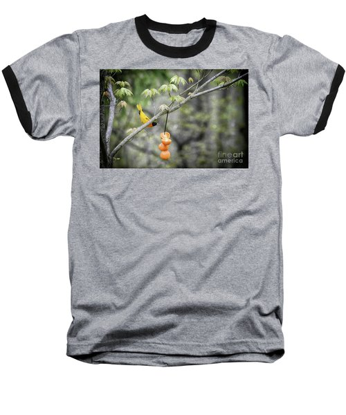 Baseball T-Shirt featuring the photograph Is This For Me by Lila Fisher-Wenzel