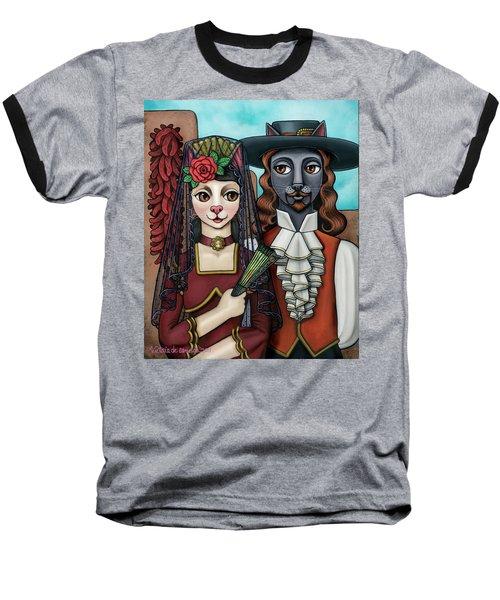 Cats Of Spain Baseball T-Shirt
