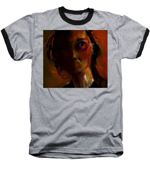 Baseball T-Shirt featuring the painting Isabella by Jim Vance