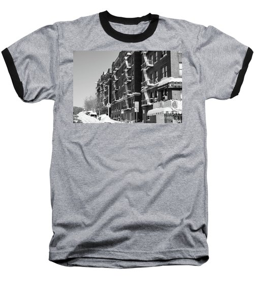 Isham Street Winter Baseball T-Shirt