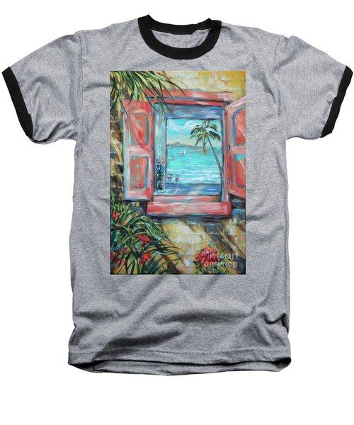 Island Bar Coral Baseball T-Shirt
