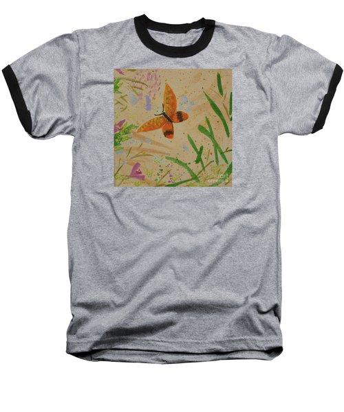 Island Butterfly Series 3 Of 6 Baseball T-Shirt by Gail Kent
