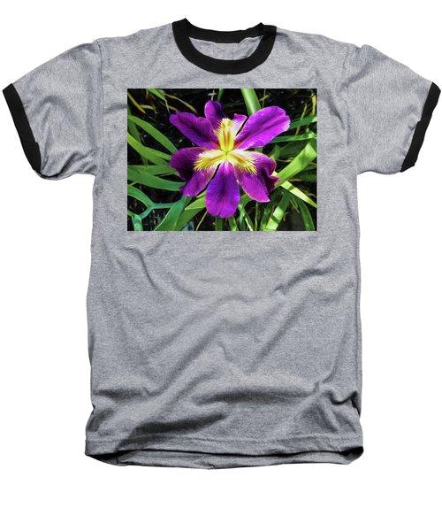 Island Iris 2 Baseball T-Shirt