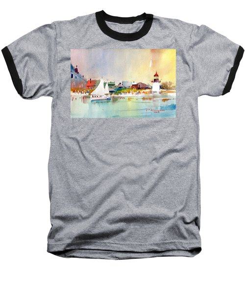 Island Light Baseball T-Shirt