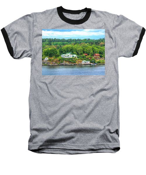 Island Living, Swedish Style Baseball T-Shirt
