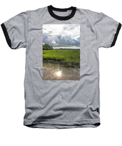 Baseball T-Shirt featuring the photograph Island by Margaret Palmer