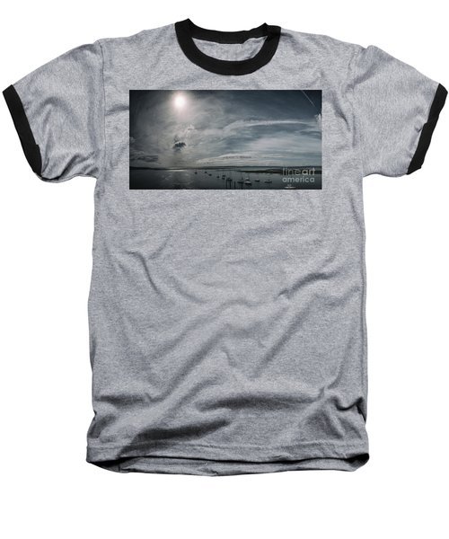 Island Panorama Baseball T-Shirt