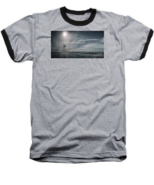 Island Panorama Baseball T-Shirt