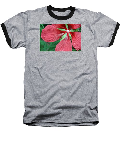 Baseball T-Shirt featuring the photograph Island Red by Gina Savage