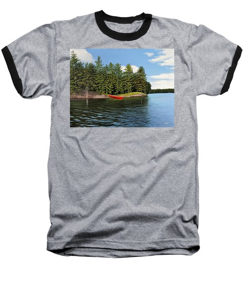 Island Retreat Baseball T-Shirt