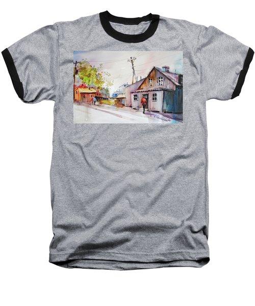 Island Shipyard Baseball T-Shirt