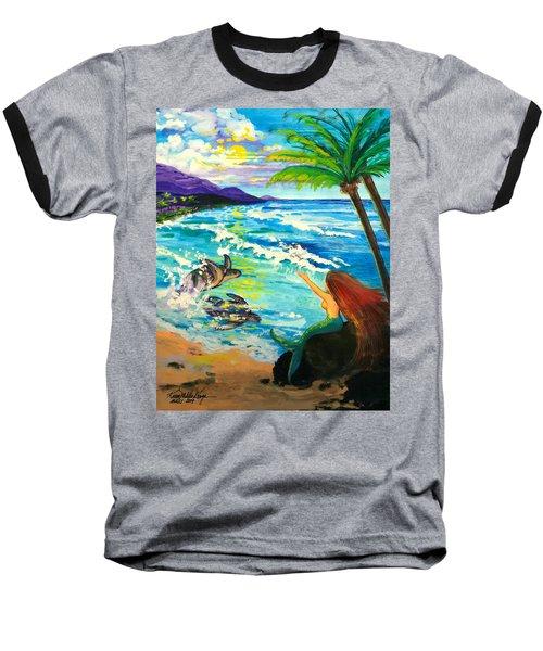 Island Sisters Baseball T-Shirt by Karon Melillo DeVega