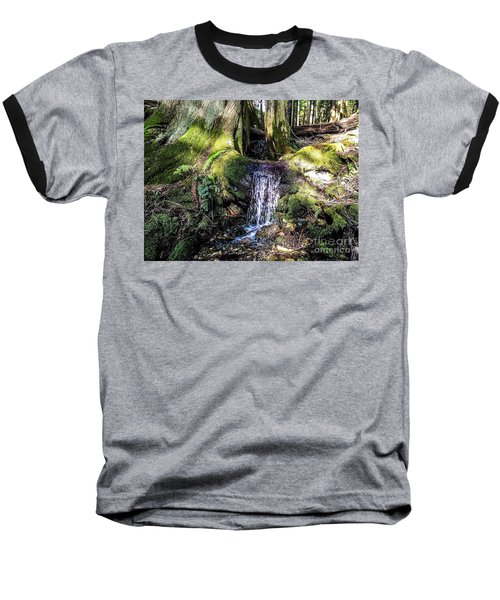 Island Stream Baseball T-Shirt by William Wyckoff