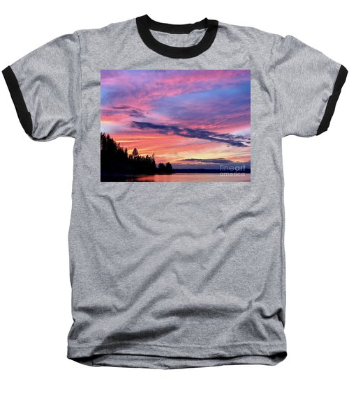 Island Sunset Baseball T-Shirt